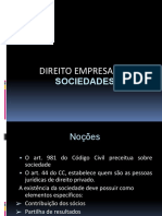 Slide II - Sociedades