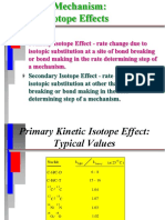 Kinetic Isotope Effects