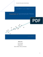 1. Solution Econometrics