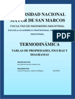 Trabajo de Tablas- Termodinámica