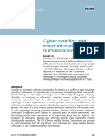 Cyber Conflict and International Humanitarian Law
