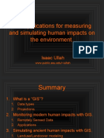 Human Impacts GIS Lecture Compressed