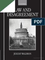 Jeremy Waldron - Law and Disagreement (1999).pdf