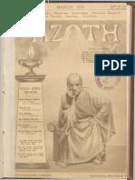 Azoth, March 1918