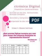 C4 Otros Combinacionales - SumadorCompleto-Comparador-Paridad 2016