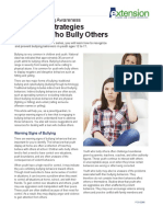 parenting strategies for teens who bully others