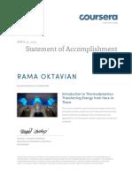 Coursera introthermodynamics 2014