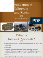 SGES1301_Introduction to Minerals Rocks
