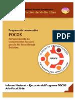 Informe Nacional Focos - Periodo Anual 2016 - Ok