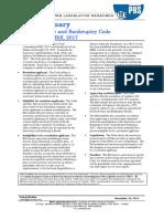 Bill Summary- Bankruptcy Code Amendment Bill, 2017