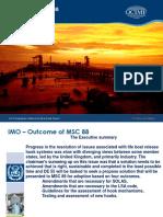 IMO MSC 88 Slides
