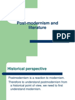Post-modernism and Literature