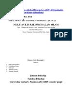 Hukum Islam Dan Multikulturalisme