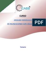 Estructura Del Curso - Análisis Hidráulico de Inundaciones Con Iber y ArcGIS