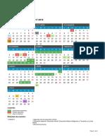 Calendario Escolar 2017 2018