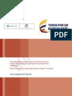 GPC USO de LASANGRE Version Preliminar