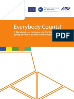 Everybody Counts! Handbook on Inclusion and Participation of Young People in EaP Countries