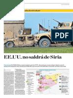 EE.uu. No Saldrá de Siria