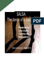 Dance of a Dialogue SALSA Presentation