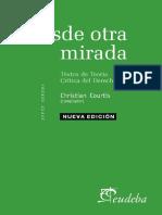 COURTIS, Christian (Ed.) Desde Otra Mirada. Textos de Teoría Crítica Del Derecho