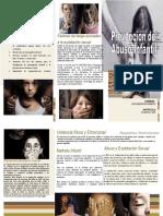 Brochure Prevencion Del Abuso Infantil
