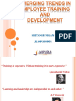 HRM Training and Development PPT