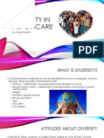 diversity in health care