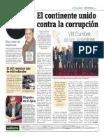 El Continente Unido Contra La Corrupción