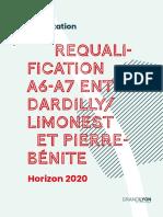 Concertation Déclassement A6/A7