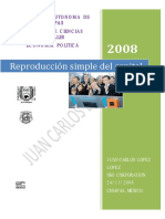 Reproduccion Simple Capital