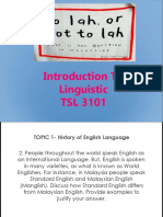 Assignment Linguistic Pp