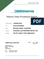 Processing Report Poseidon3D