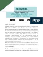 GEOGEBRA MATEMATICA