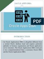 Oracle Apps DBA Training in Chennai
