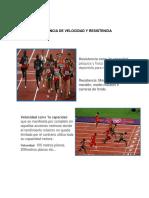 Diferencias Entre Carrera de Velocidad y Resistencia