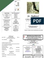 St Andrews Bulletin 041518
