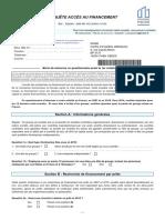 Questionnaires Acces