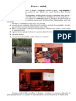 Proces Verbal Ziua Mondiala a Educatiei