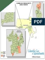 Columbia Gas of Massachusetts service territory