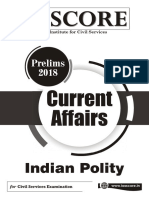 Prelims 2018 Current Affairs Polity