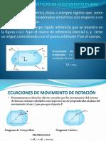 Ecuaciones Cinéticas de Movimiento Plano