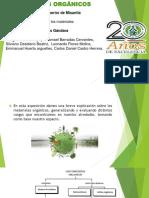 materiales orgánicos 1