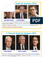 Nobel 5 Ultimos