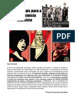 Teses Para a Luta Feminista Classista