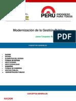 Curso Modernizacion de La Gestion Publica Julio 2017