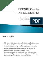 Tecnologias Inteligentes