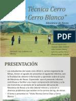 Visita Técnica Cerro Chao y Cerro Blanco