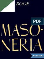Masoneria - Jakim Boor