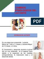 Cambios Anatomofisiologicos Del Lactante
