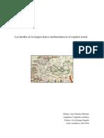 Las Huellas de La Lengua Franca Mediterránea en El Español Actual